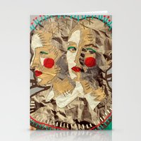 girls Stationery Cards featuring Girls by R. Gorkem Gul