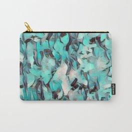Confetti Caribbean Aqua Carry-All Pouch