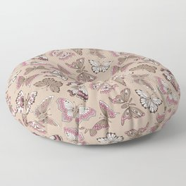 Butterflies pattern Floor Pillow