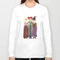 hocus pocus Long Sleeve T-shirts featuring Hocus Pocus Illustration by Shop Sarah Alyson
