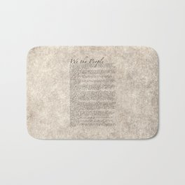 United States Bill of Rights (US Constitution) Bath Mat