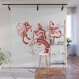 PM & Analysis Guild Crest Wall Mural