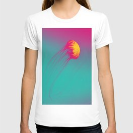 Abstract Jellyfish T-shirt