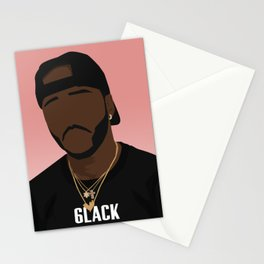 6LACK Stationery Cards