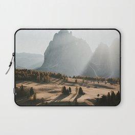 Sunrise at Alpe di Siusi Laptop Sleeve