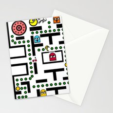 NeW PaCmAN Stationery Cards