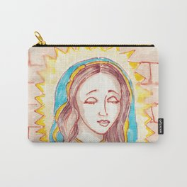 Meditation. Calm. Art in the style of graffiti. Carry-All Pouch