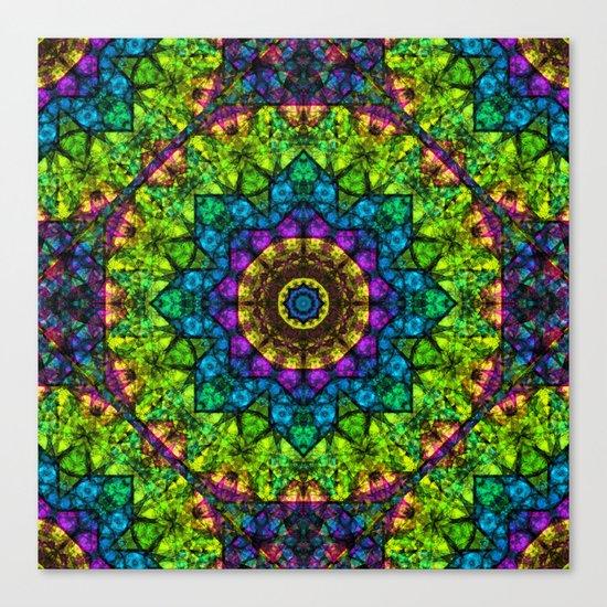 kaleidoscope Crystal Abstract G50 Canvas Print