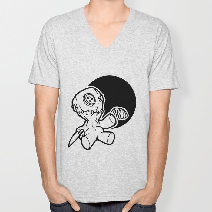 Voodoo Doll Unisex V-Neck
