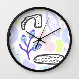 Imaginary land Wall Clock