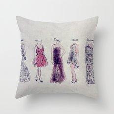 Haute Couture  Throw Pillow