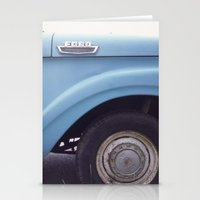 ford Stationery Cards featuring ford by auntie loren