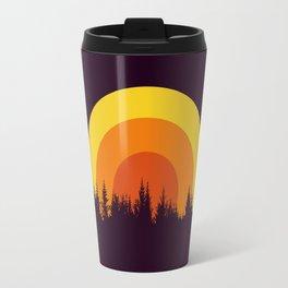 summer mountain Travel Mug