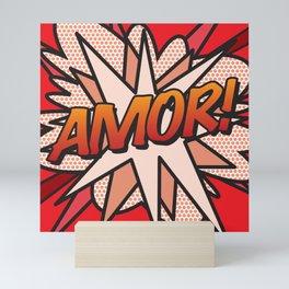 Comic Book AMOR! Mini Art Print