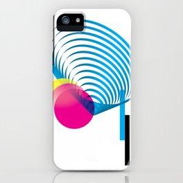 zero 1five - white iPhone Case