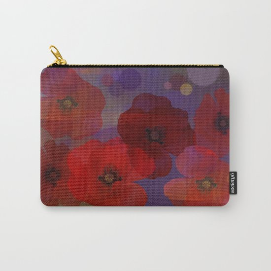 Summer promise with red poppies Carry-All Pouch