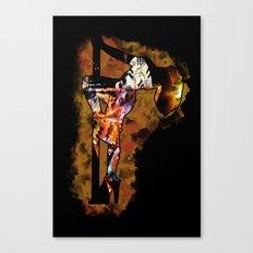 The Lap Dancer Canvas Print