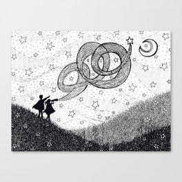 Bottling Starlight Canvas Print