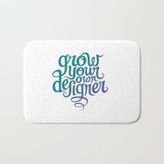 Grow Your Own Designer Bath Mat