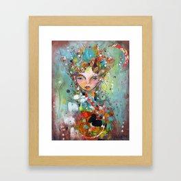 Beautiful Wishes Framed Art Print