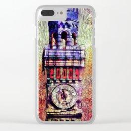 Bromo Seltzer Surrealistic Clear iPhone Case