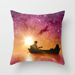 Serenade in the night Throw Pillow