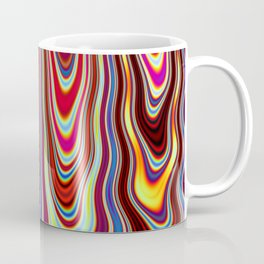 Marbled Lava 57 magic fluid digital Hi Res Coffee Mug