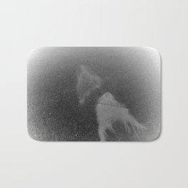 Ghostly Oil Spills Bath Mat