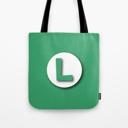 The Emblem of the Brother, Luigi Tote Bag