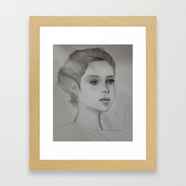 And Suddenly, All The Love Songs Were About You... Framed Art Print