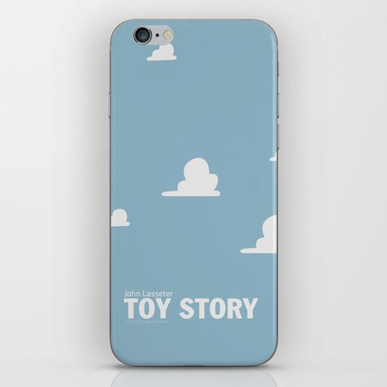 Toy Story | Minimalist Movie Poster iPhone & iPod Skin