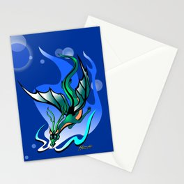 Comet Dragon Stationery Cards