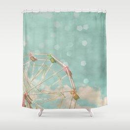Candy Wheel Shower Curtain