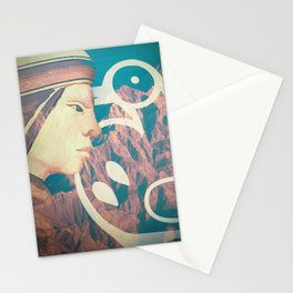 wild mountain Stationery Cards