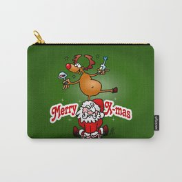 Merry X-mas Carry-All Pouch