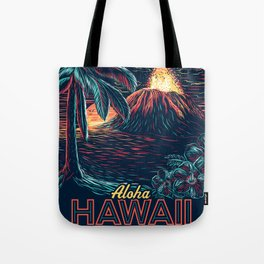 hawaiian night Tote Bag