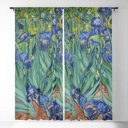 Irises, Vincent Van Gogh Blackout Curtain