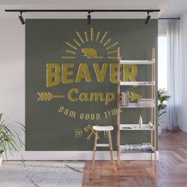 Beaver Camp: Dam Good Time Wall Mural