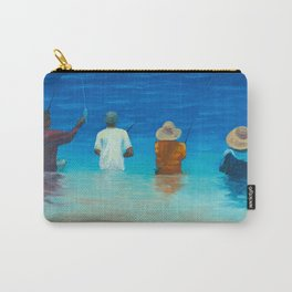 Haleiwa Fishermen Carry-All Pouch