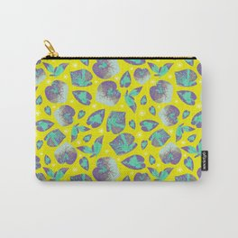 Fun bright tropical botanical design Carry-All Pouch