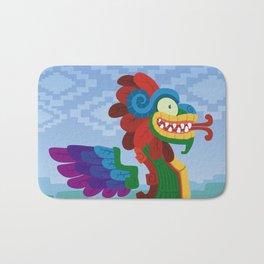 Silly bestiary : Quetzacoatl Bath Mat