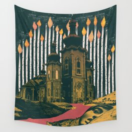 Sleep, those little slices of death Wall Tapestry