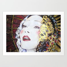 Porcelain Liberty Art Print