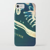sneakers iPhone & iPod Cases featuring Converse Sneakers by Tyland Creations