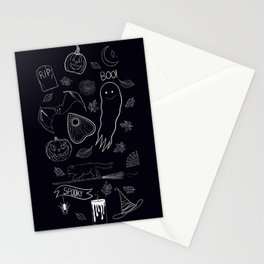 Lil Spooky Friends Stationery Cards