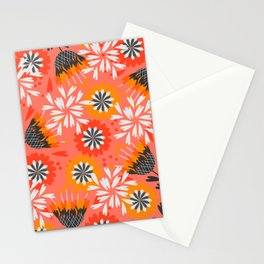 Sweet floral spring pattern Stationery Cards