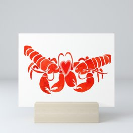 You're my lobster Mini Art Print