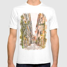 Streets of Rome, Through art and history T-shirt