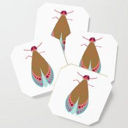 Fall Moth Coaster