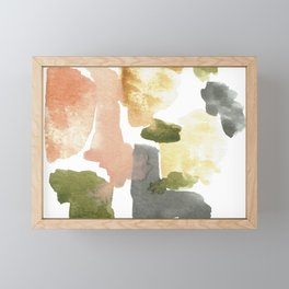 Great New Heights Abstract Framed Mini Art Print